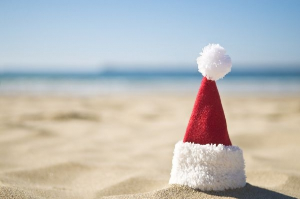 Christmas-at-the-beach